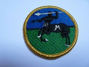 COLOMBIA 7th Mountain Brigade, cloth arm patch , 2003