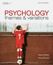Psychology Themes & Variations Watne Weiten Doug McCann 2nd Canadian Edition