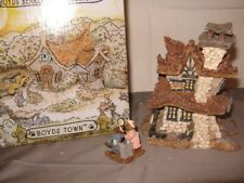 """Boyds Bearly-Built Villages """"Bearly Well Clinic"""" Org Box 3 Pc."""