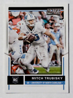 2017 Panini Score Rookie Card Mitch Trubisky RC #349 Chicago Bears