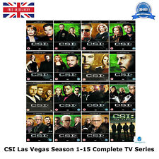 CSI Las Vegas 1-15 Complete Series 1 2 3 4 5 6 7 8 9 10 11 12 13 14 15 New DVD