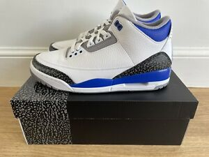 Nike Air Jordan 3 Racer Blue UK 9