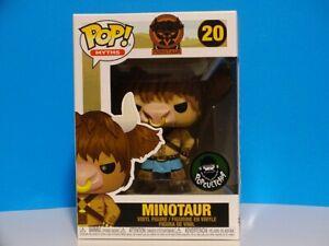 Funko Pop! Minotaur #20 Myths  inHand Exclusive + P/Prot