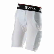 Gear Pro-Tec Z-Cool Comp Pro  Men's 3 Pad Football Girdle 1261 ZTP White XLarge