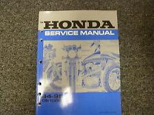 1994 & 1995 Honda Model CB1000 Motorcycle Shop Service Repair Manual Book