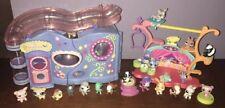 LPS Littlest Pet Shop Little Lovin' Playhouse Tricks & Talent Play Set Toy Lot