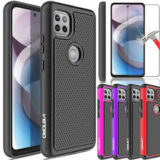 For Motorola Moto One 5G Ace 2021/2020 Case Rugged TPU Cover/Screen Protector