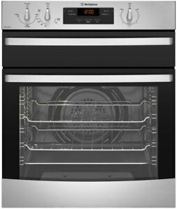 Westinghouse 60cm Natural Gas Oven with Separate Grill Model WVE655SNG
