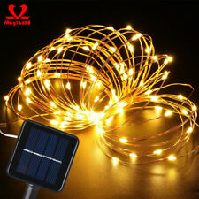 50-200 Led Solar Power Fairy Light String Lamp Party Xmas Deco Garden Outdoor
