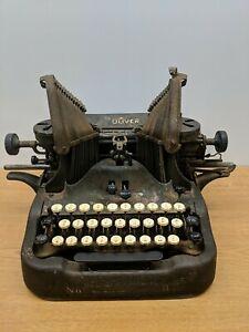 "1913 Vintage Antique OLIVER ""Standard Visible Writer"" No. 9 BatWing Typewriter"