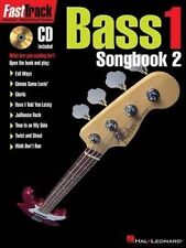 FastTrack Bass Songbook 2 - Level 1 Fast Track Hal Leonard New