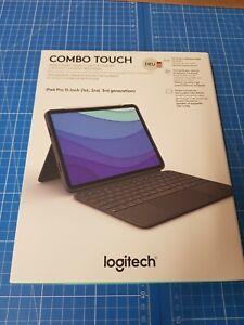 Logitech Combo Touch Tastatur mit BookCover Für Apple iPad Pro 11 / QWERTZ Ger