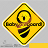 Baby On Board Infant Vinyl Sticker Decal Window Car Van Bike 2640