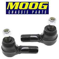 Pair Set of 2 Front Outer Tie Rod Ends Moog ES2347RL for Hyundai Plymouth Eagle