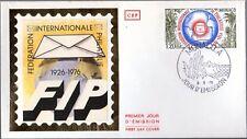 1054+ FDC    ENVELOPPE  1er JOUR  CEF CINQUANTE. FONDATION FEDERATION PHILATELIE