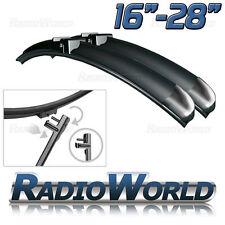 Aero Front Window / Windscreen Side Pin Car Wiper Blades Pair Upgrade