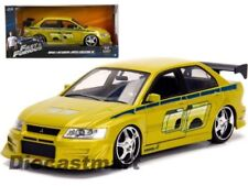 Voitures, camions et fourgons miniatures verts Fast & Furious 1:24