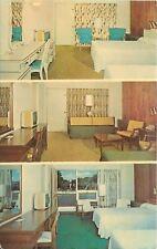 Utica New York~Gateway Motel Guest Room~Interior Views~TV Sets~1950s