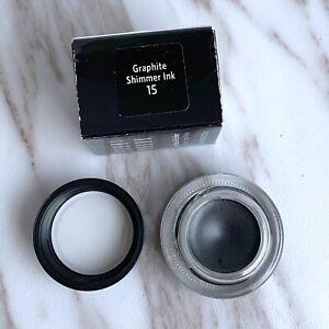 Bobbi Brown Long-Wear Gel Eyeliner #15 Graphite Shimmer Ink 0.1oz/3g - New