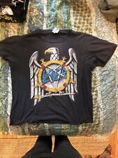 Slayer Testament Vintage 1991 Tour Shirt XL