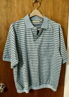 Sun Casuals Men's Short Sleeve Shirt - Size 2XL - Big & Tall