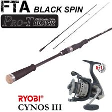 FTA Black Spin45  2,40m 15-45g + Ryobi Cynos III 2000