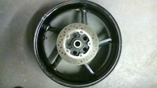 2009 YAMAHA R1  REAR RIM WITH ROTOR