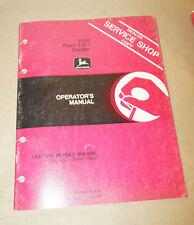1980 John Deere 1550 Powr-Till Seeder Operator's Manual P/N Om-N159559 issue K0