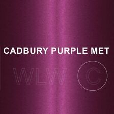 Cellulose Car Body Classic Vintage Paint CADBURY PURPLE MET Gloss