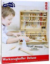 Legler Lernspielzeug Holz 48tlg. Werkzeugkoffer Deluxe