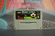 KICK OFF 3 EUROPEAN CHALLENGE PAL EUR SUPER NINTENDO SNES COMBINED SHIPPING