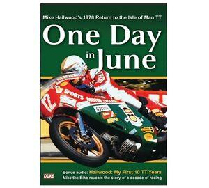 ONE DAY IN JUNE DVD Mike Hailwood's 1978 Return to the Isle of Man TT - Duke New