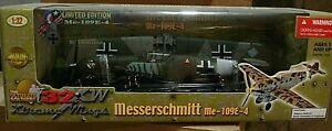 Ultimate Soldier 21st Century German Fighter Plane Bf-109 Libya Black 3 1:32