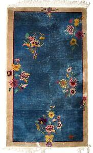 art deco chinese rug 4x7