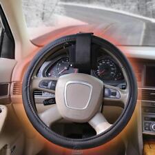 Glacier Heat Warmest Heated Steering Wheel Cover Battery Powered Black