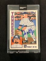 Topps Project 2020 Signed DON MATTINGLY CHARITIES Auto Card #13 Keith Shore