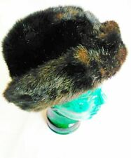 Super Warm Fake Fur Winter Hat With Foldable Brim and Fleece Inside!