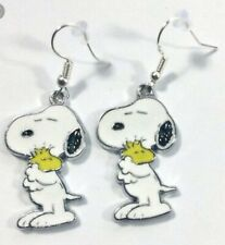Snoppy and Woodstock Dangle Earrings