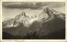 German Mountains Metamorphic - King & Family DIE WATZMANN-SAGE Postcard