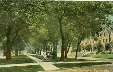 Dayton,OH. A Mothers Stroll on North Boulevard 1916