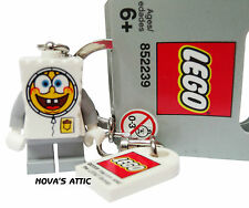LEGO SPONGEBOB SQUAREPANTS ASTRONAUT KEYRING KEYCHAIN  2008