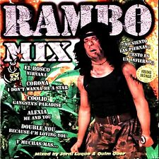 CDx2 - Rambo Mix - Various (Mixed by J.Luque & Q.Quer (SPANISH DJ's) MINT LISTEN