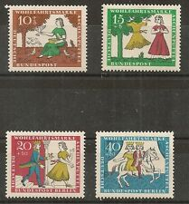 STAMP / TIMBRE ALLEMAGNE GERMANY SERIE N° 352 A 355 ** OEUVRES DE BIENFAISANCE