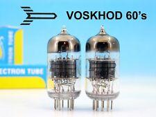 2x MATCHED PREMIUM 6N1P-V 6Н1П-В VOSKHOD 60s PAIR TUBE ~ 6DJ8 6922 ECC88 E88CC