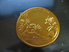 devil satan snowballs in hell 1972 Mardi Gras Doubloon Coin new orleans SALE
