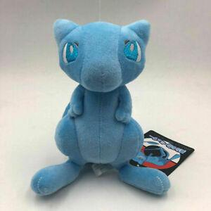 """Shiny Blue Mew Plush Soft Toy Teddy Doll Stuffed Animal 7.5"""""""