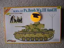 Dragon/Cyberhobby 1/35 SdKfz.143 PzBeobWg.III ausf.H (with Panzer crew at rest)