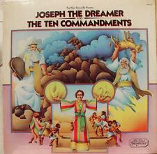 Word Storyteller - Joseph The Dreamer / Ten Commandments 2 LP New Sealed Xian