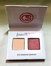 COASTAL SCENTS Style Eyes Shadow PURPLE/PINK CREAM Duo Sampler FORMAL PALETTE