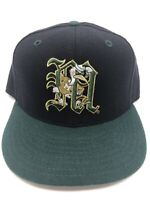 Miami Hurricanes NCAA New Era 5950 Baseball Hat Fitted 7 3/8 Wool Cap